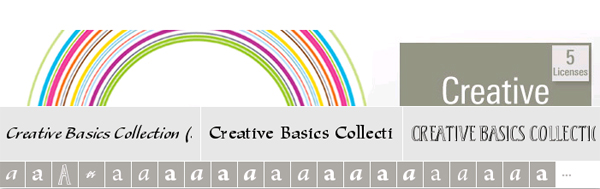 Creative Basic Collection