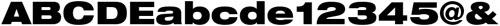 Neue Helvetica® 93 Black Extended